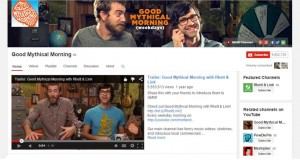 GMM YouTube chanel - Rhett and Link