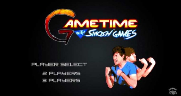SPIDERS ON OUR FACES Gametime Smosh Games on Oculus Rift
