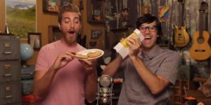 gmm-good-mythical-morning-rhett-and-link-testing-the-butter-cutter