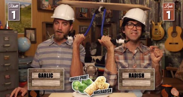 rhett and link ultimate juice test -gmm - good mythical morning