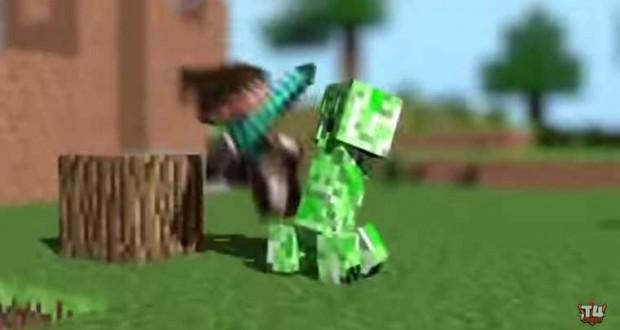 j4-minecraft-animation-intro-youtube-lp-mc-creeper