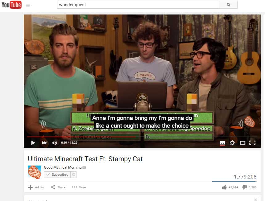 stampy-interview-closed-caption-transcript-fail-wonder-quest-gmm-rhett-and-link-2