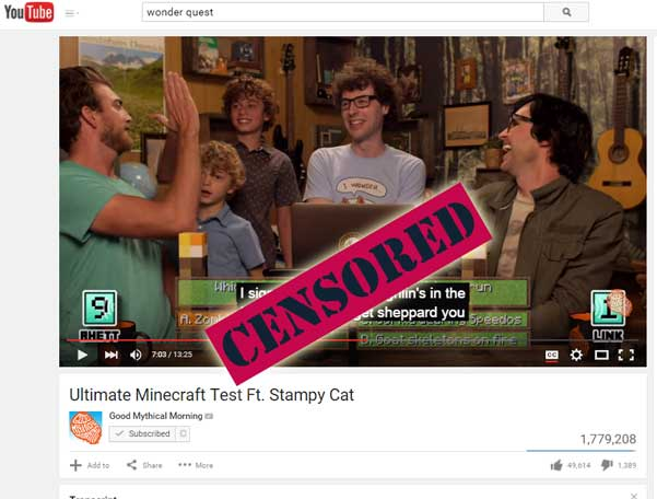 Exclusive Stampy NSFW Fail Collection-CC Gone Wrong w/ Minecraft's