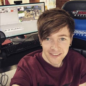 DanTDM-TheDiamondminecart-youtube-celebrity-cute-photo