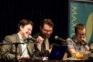 Justin McElroy, Travis McElroy, and Griffin McElroy