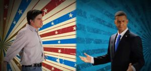 epiclloyd and alphacat playing mitt romney and barack obama in epic rap battle