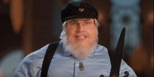 epiclloyd playing george r r martin in epic rap battle