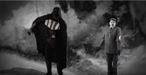 nice peter and epiclloyd playing darth vader and adolf hitler in epic rap battle