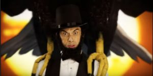 nice peter playing abraham lincoln in epic rap battle