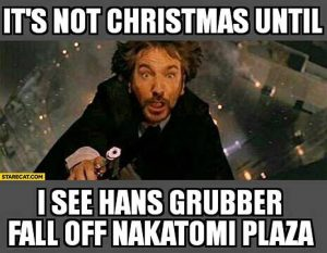 Hans Gruber, Die Hard, Christmas, Holiday Season, YouTuber Reveiw